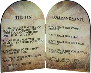 The Ten Commandments of Church Friendliness
