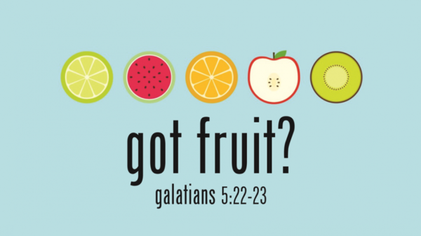 Fruit of the Spirit: SELF CONTROL Image